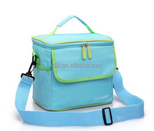 Candy Color Waterproof Oxford Picnic Insulated Cooler Bag