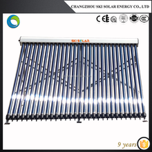 EN 12975 & SRCC Approved glass pressurized solar collector for water heater