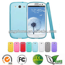 Clear Thin TPU Soft Case Skin Cover For Samsung Galaxy S3 i9300