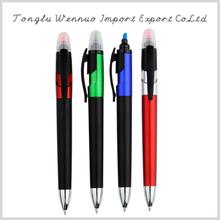 Custom slogan printing highlighter pen combo
