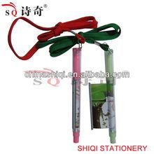 Promotional keychain banner pen