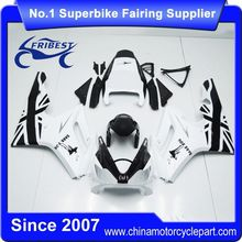 FFKTR001 Motorcycle ABS Fairing For Daytona 675 2006 2007 2008 Black Dark Dog
