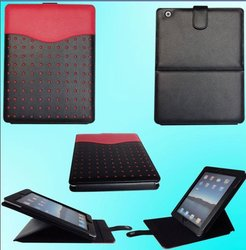 Popular Leather flip case for iPad 2/3/4