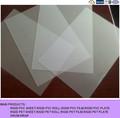 claro opaco transparente de plástico rígido 4x8 la hoja del pvc