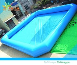 COOL!!!! inflatable water swimming pool,0.9mm PVC tarpaulin inflatable water pool for family,inflatable adult swimming pool