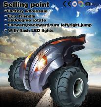 new toy devil tumbler flash light wheels powerful rc car