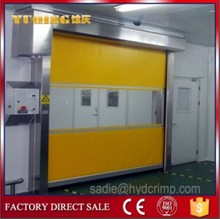 YQR-01 high speed roll up doors, top sell high speed door cabinet wood cnc router