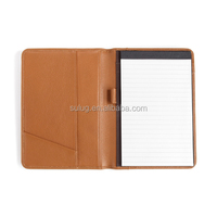 Unique business card holder with notepad