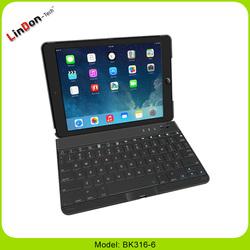 Bluetooth keyboard for ipad air 360 swivel wireless keyboard for ipad5