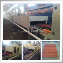 roky roofing tile Stone coated metal roof tile machine