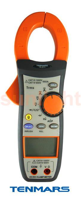 TM-2013 TRMS AC-DC Clamp meter-Sunlight