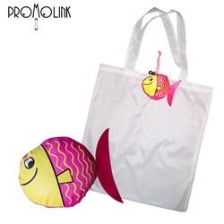 animal shape factory supply custom logo polyester foldable shopping bag