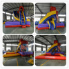 2015 PVC jumping castle with slide