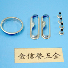 Made in China mickel lever arch clip mechanism eyelet