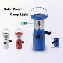 (1500360) Hand Crank Portable Rechargeable Ni-Mh Battery Solar LED Lantern