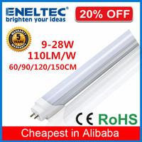 high lumen clear frosted 150cm aluminum housing 30w t8 led tube light