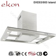 CE CB SAA GS Approved 90cm Stainless Steel Copper Island Range Hood