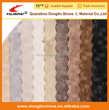 Embossed pvc artificial leather for car interior