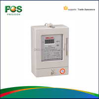 LCD display prepayment watt-hour meter/IS09001 Certified prepayment watt-hour meter/Smart IC Card prepayment watt-hour meter