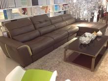 hotel furniture leather design living room sofa set design J862
