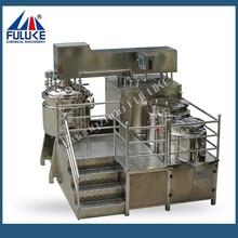 500L vacuum emulsifying mixer/cosmetic vacuum emulsifier/ cream vacuum emulsifier