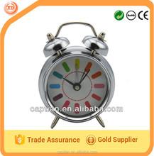 3inch mini twin bell alarm clock