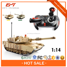 Hot selling kids 1 14 scale rc tank toy for sale