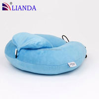 shred memory foam personalized travel neck pillow,cute neck pillows,airplane use shred memory foam pillow