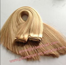 Hot New Products for 2015 Double Drawn Human Hair Extension Best Selling Hair Products in Europe