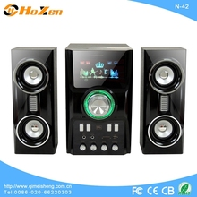 Most popular 2.1 speaker support usb/sd card/ fm