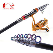 Carbon High Quality Carbon Fiber 1.8m-3.6m Carbon Spinning Sea Telescopic Fishing Rod