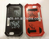 Back housing for i867 cover(black &Red)