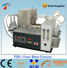 Petroleum Products Sulfur Content Analyzer( tube furnace method ) model TPS-120
