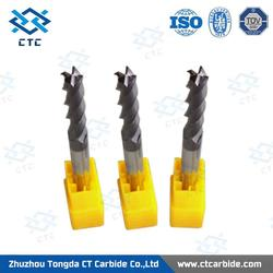 New design germany 3 flute carbide end mill for wholesales