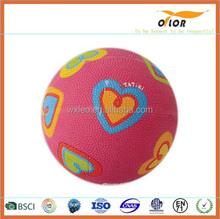 Colorful cartoon toys basketball