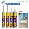 acrylic sealant,floor adhesive 100%flexible,paintable,gold supplier