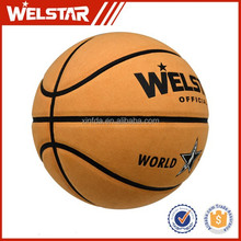 Best selling 8 pannels standard Size 7 indoor / outdoor pu laminated basketball