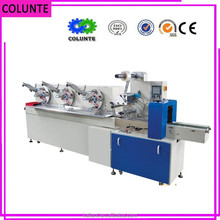 high quality automatic necessity card/wipes/Soft sweets packing machine price