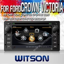 WITSON FOR FORD CROWN VICTORIA 2008-2012 CAR DVD GPS PLAYER WITH 1.6GHZ FREQUENCY A8 DUAL CORE CHIPSET BLUETOOTH GPS WIFI 3G
