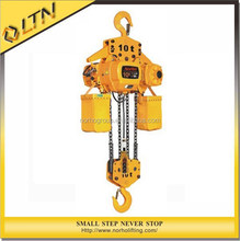 High Quality CE GS TUV Approved Electric Chain Hoist/building material hoist