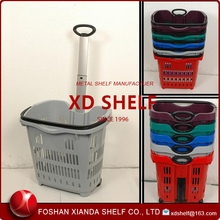 Supermarket Hand Shopping Trolley / Vegetable shopping trolley bag /Polyester shopping cart