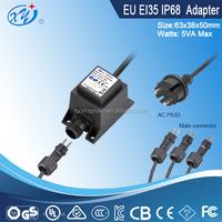 Neon transformer GS IP68-35 outdoor 5w electronic power transformer