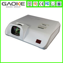 Gaoke GK625XS LCD technology XGA 1m 81inch whiteboard office education 2800lumens ultra short throw projector
