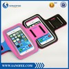 Alibaba express dual colors customized armbands for cell phone armband