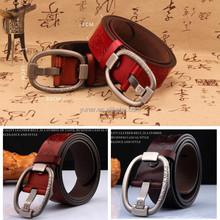 Women Men Genuine Leather Belt
