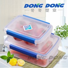 Rectangle fresh box plastic food storage box Container Crisper