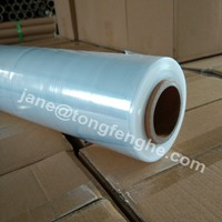 500mm x 15mic lldpe transparent stretch shrink wrap film