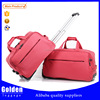 Top female traveling bag eminent trolley duffle bags with combination lock