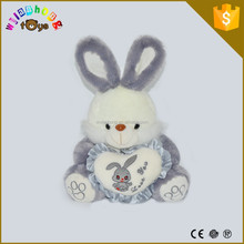 2015 Hot selling plush animals bunny toys with pp cotton stuffed
