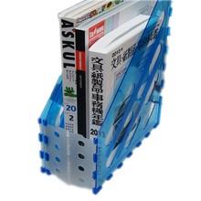 A4 plastic archive acrylic organizer folder holder divider magazine file holder